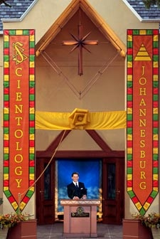 Mr. David Miscavige at the Grand Opening of the Church of Scientology of Johannesburg, South Africa